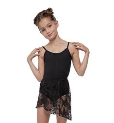 Детская юбка для танцев кружевная