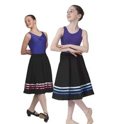 Шопенка юбка для танцев