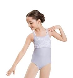Танцевальный купальник с воланами