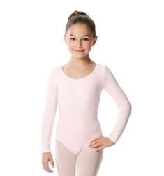Детский гимнастический купальник с рукавом