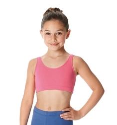 Детский короткий топ для танцев