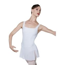 Танцевальный купальник с юбочкой