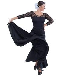 Испанская юбка-годе