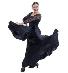 Юбка солнце-клёш для Фламенко