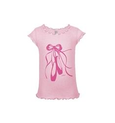 Детская розовая маечка