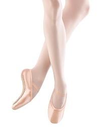 Эластичные розовые балетки