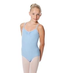 Детский балетный купальник с бретельками