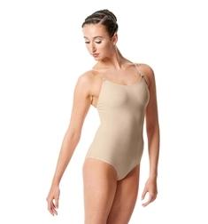 Купальник для танцев телесного цвета