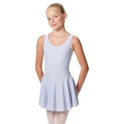 Купальник с юбкой для девочек из лайкры