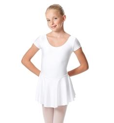 Детский купальник для балета с юбочкой