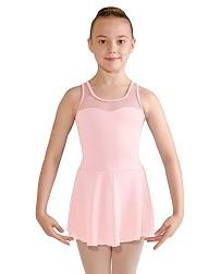 Детский балетный купальник с юбкой NOEMIE