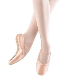 Женские эластичные розовые балетки