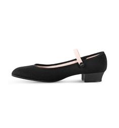 Туфли холщовые для девочек