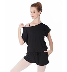 Комбинезон для танцев с шортами