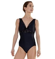Женский танцевальный купальник с бархатом