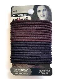 Матовые резинки для волос 18 штук
