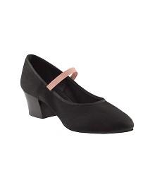 Народно-характерные холщовые туфли