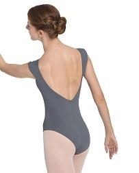 Танцевальный купальник с глубоким вырезом на спине