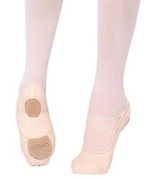 Холщовые балетки на раздельной подошве Hanami