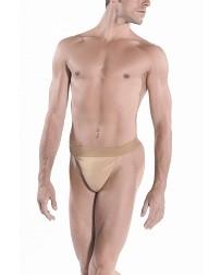 Мужские трусы-стринги с узким поясом