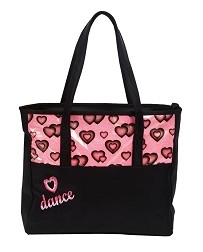 Объемная сумка-тоут для танцев