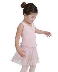 Детский купальник с юбкой Glitter Rose