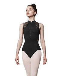 Женский балетный купальник на молнии