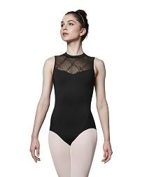 Женский балетный купальник с открытой спиной