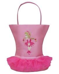 Детская фигурная сумка-тоут Ballerina Tutu