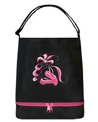 Черная сумка-тоут Ballerina