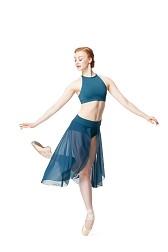 Длинная  юбка для танцев Fantina