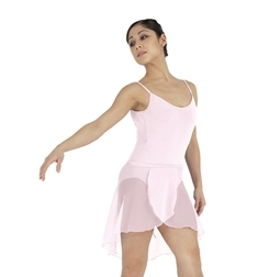 Шифоновая юбка с запахом