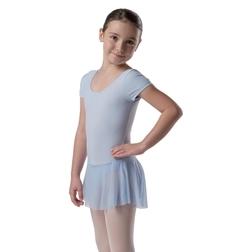 танцевальный купальник с юбкой