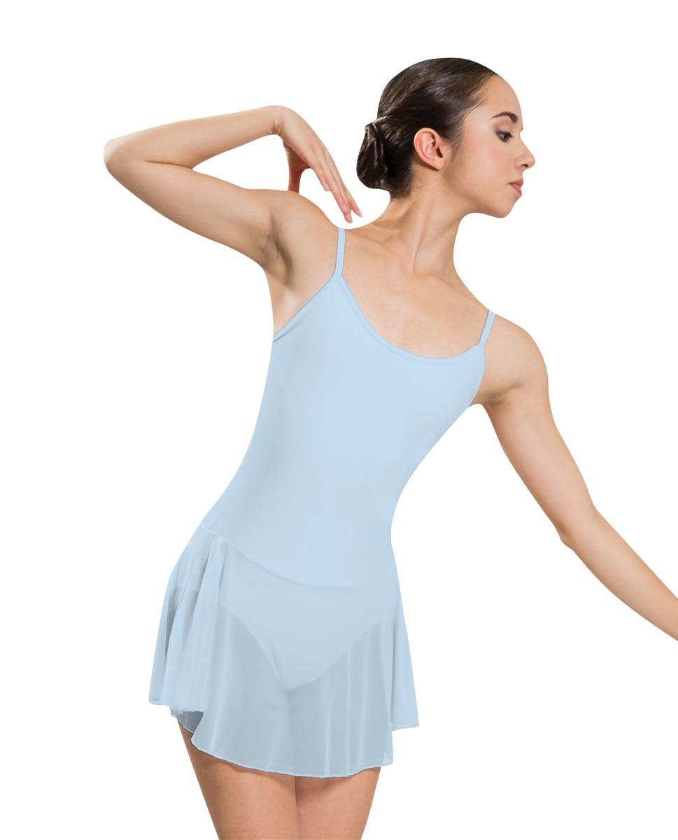 Танцевальный купальник с юбкой PLUME микрофибра